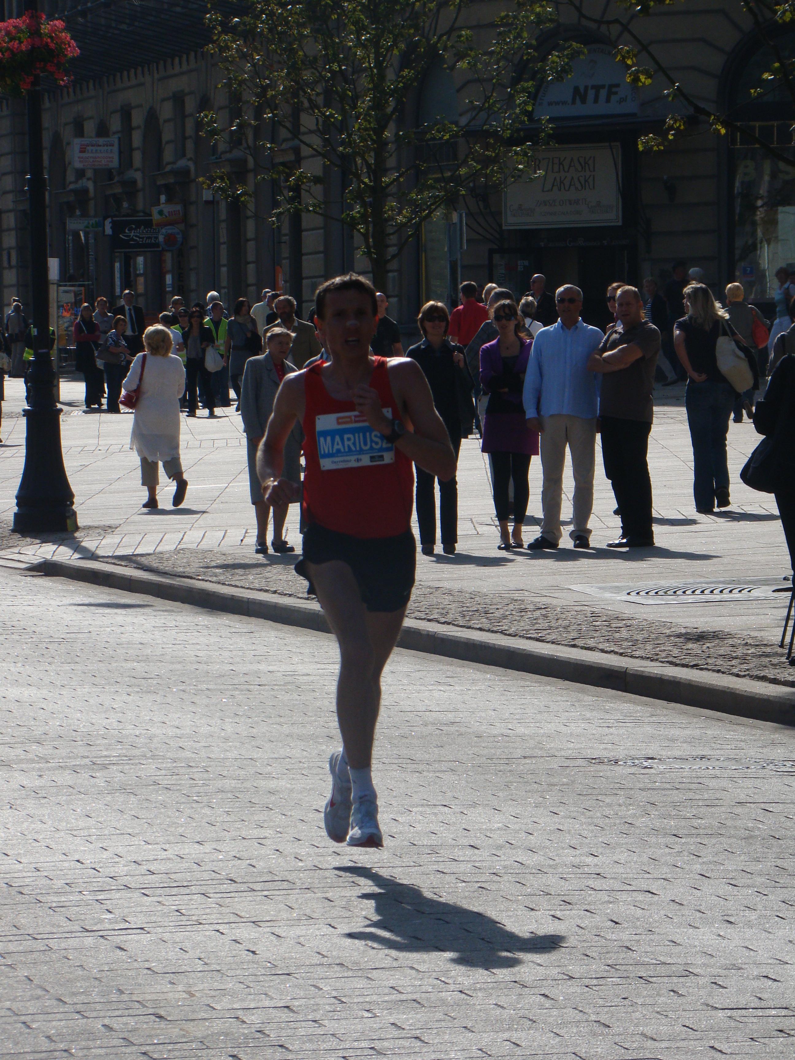 maraton wawa 2009 koncowka